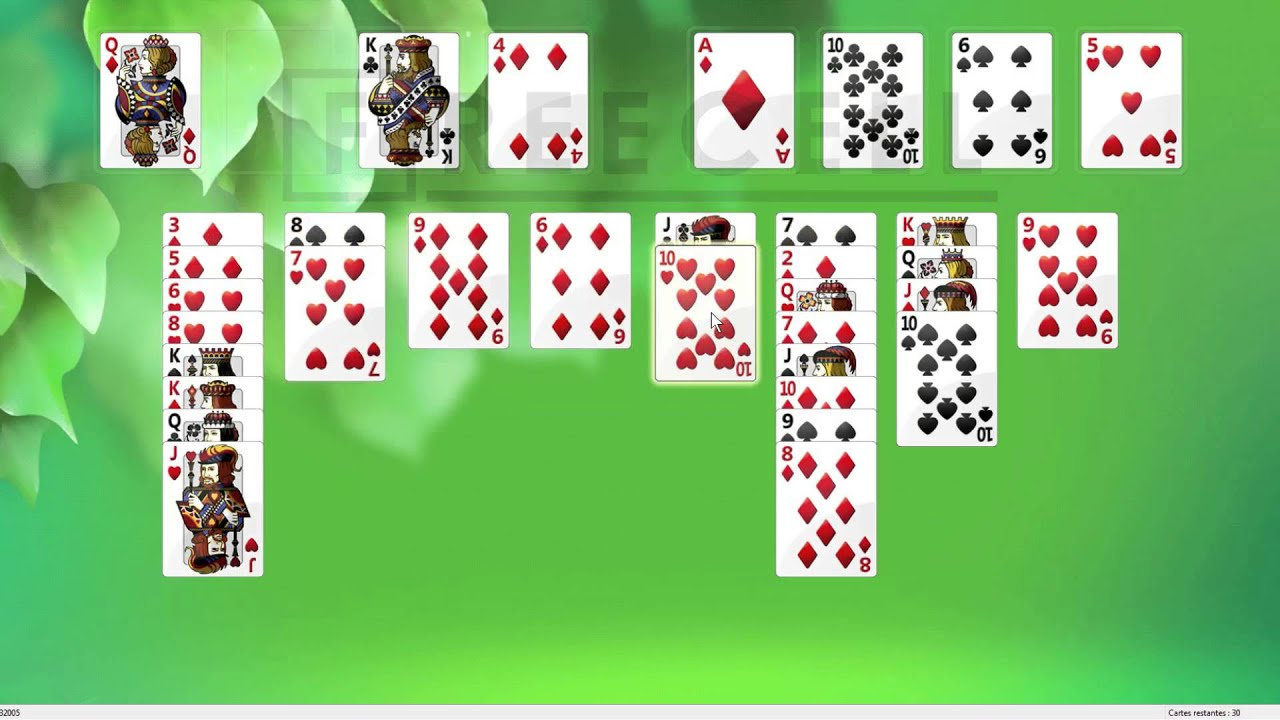 Download Solution to freecell game #32005 in HD
