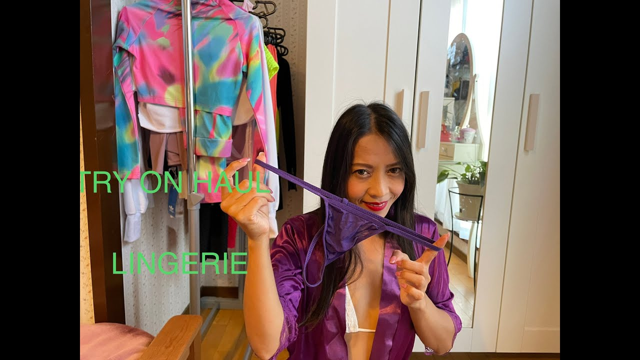 #LINGERIE TRY ON HAUL#LEILA MAY