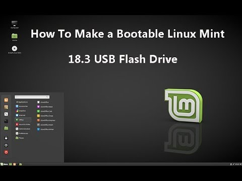 Make my usb flash drive bootable windows 7 on linux mint