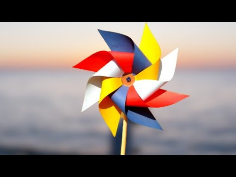 How To Make DIY Paper Windmill || Paper Craft