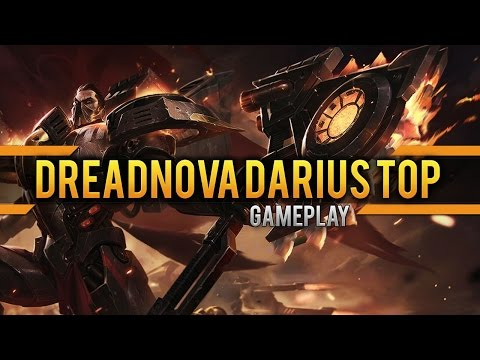 Dreadnova Darius Top Gameplay [Lets Play] [League of Legends