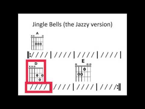Jingle Bells (Brian Setzer) - Moving chord chart