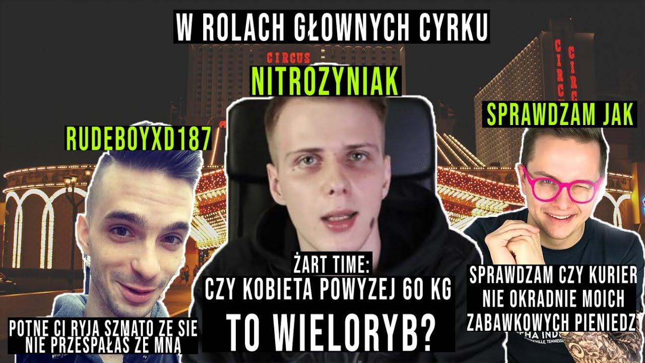 POLSKA STAŁA SIĘ CYRKIEM SERIO (Sprawdzam jak, Rudeboyxd187, Nitro) ft. Jestem Gniewny