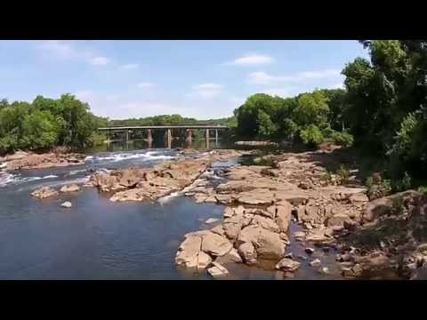 A Flight at Weldon North Carolina's River Falls Park