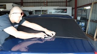 How to remove oĮd tint & adhesive