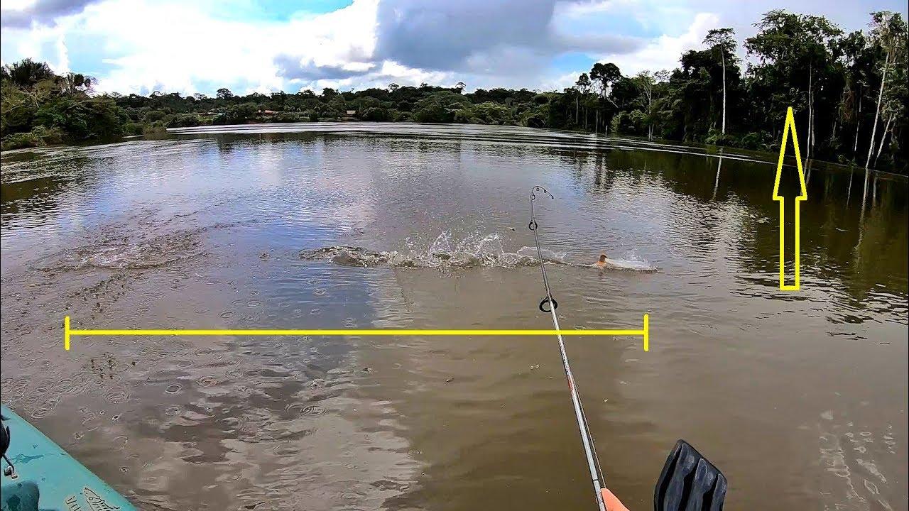 OLHA O QUE ELE FEZ, INCRÍVEL!!! Pescaria.