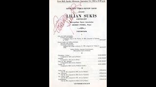 Lilian Sukis sings Angèle's aria from 'Der Graf von Luxemburg' by Franz Léhar