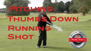 How To Pitch In Golf - Thumbs Down Concept