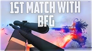 First Match With BFG-50 | Roblox Phantom Forces Beta | iBeMaine
