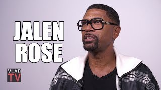 Jalen Rose on Purposely Hurting Kobe in a Game, Kobe Scoring 81 Points on Him (Part 11)