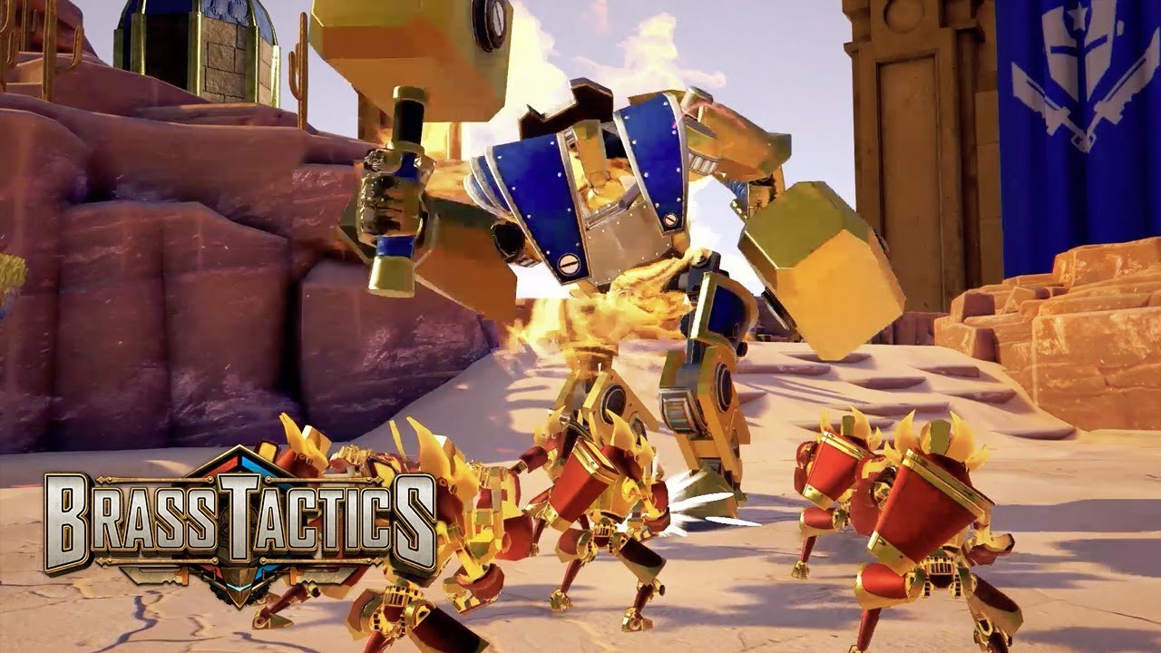 Brass Tactics | Launch Trailer | Oculus Rift
