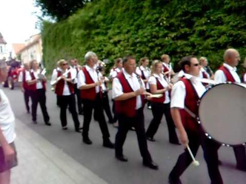 125 Jahre Feuerwehr Umzug In Heilbronn Biberach Youtube