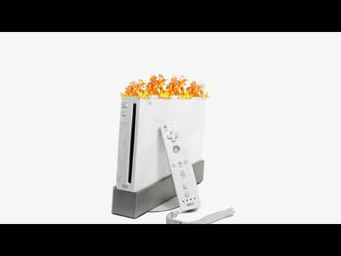 Mii channel music but it's on fire