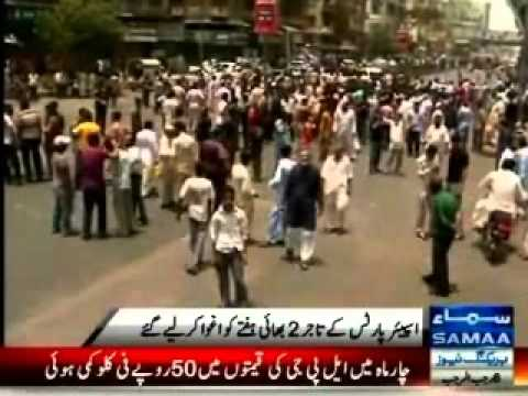 Karachi traders protest against abduction of two businessmen for extortion