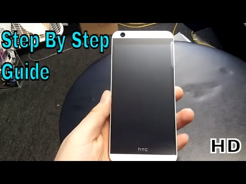 How to hard reset HTC Desire 626s (HD)