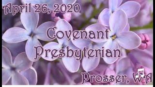 April 26, 2020 - Worship Service