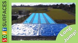 FUNdamental Athletics Long Jump Runway Installation Denbigh