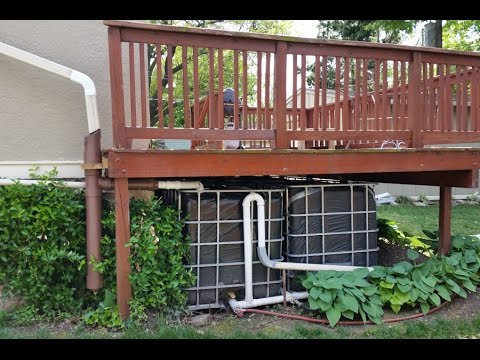 hook up sprinkler to rain barrel dating tense remix