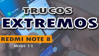 Redmi Note 8 - TRUCOS EXTREMOS