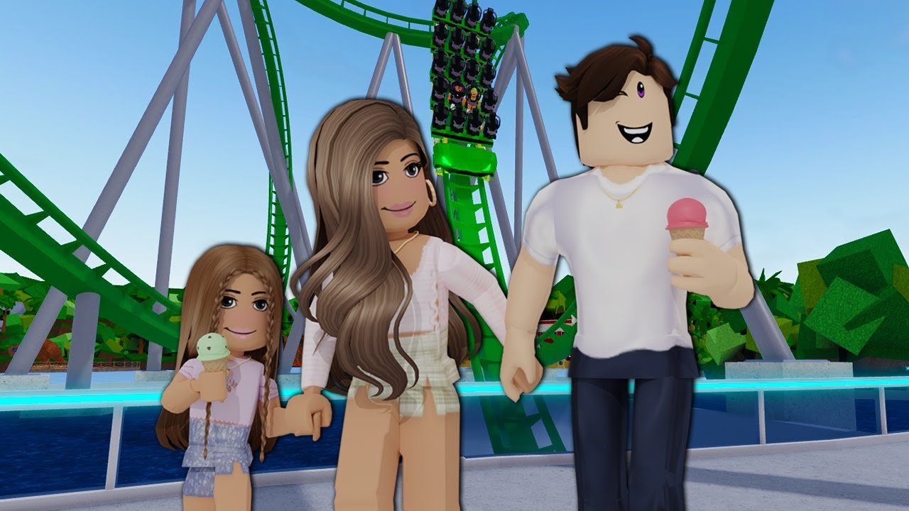TAKING MY FAMILY TO UNIVERSAL STUDIOS on Roblox | Family rp