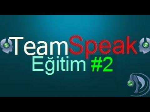 TeamSpeak 3 Oda Kurma Ayarları Fotoğraf Koyma Hoşgeldiniz Mesajı Yapma