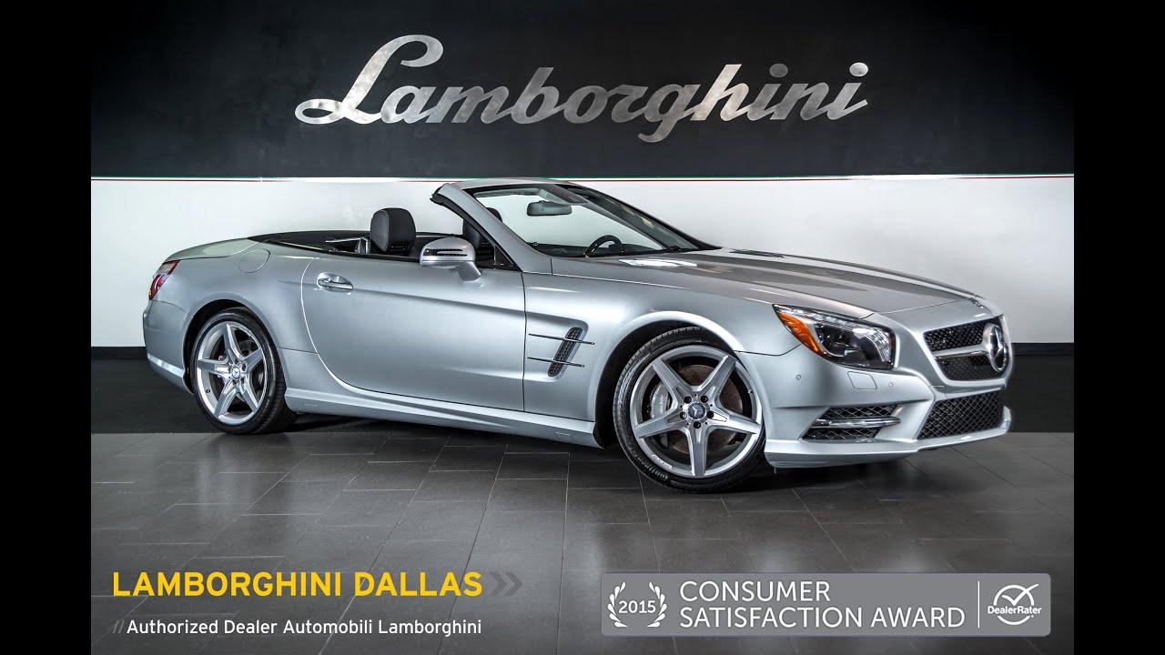 2013 mercedes benz sl550 convertible silver lt0869 youtube for Mercedes benz sl550 convertible