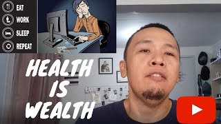 Health is Wealth (Change your lifestyle)