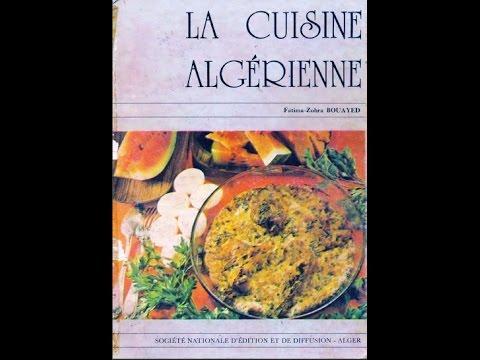 La Cuisine Algérienne Téléchargement Gratuit YouTube - Livre de cuisine gratuit