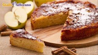 Rustic apple cake - recipe