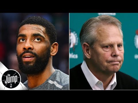 Kyrie Irving has 'ghosted' the Celtics ahead of free agency, according to a report | The Jump