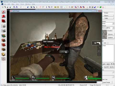 Left 4 Dead: Navigational Meshes and Spawn Infected/Zombies