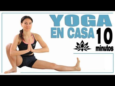Yoga en casa 10 min para principiantes | Día 11 MalovaElena