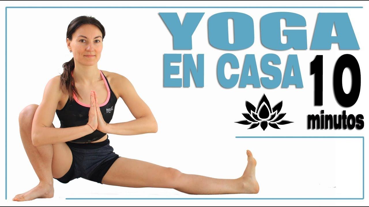 Yoga En Casa 10 Min Para Principiantes Día 11 Malovaelena Youtube