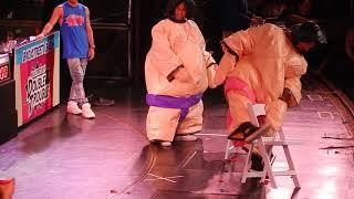 Backstreet Boys Cruise 2018 - Game Show B - Sumo Wrestling