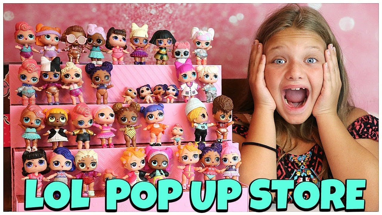 Display Case L.O.L Surprise Pop-Up Store Doll