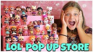 ЛОЛ Сюрприз поп вгору магазину дисплей чохол з ексклюзивною ляльки LOL і сліпий сумки