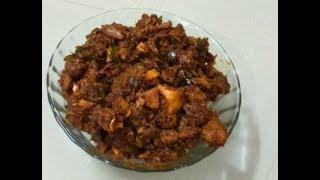 ചിക്കന്  റോസ്റ്റ്/Spicy chicken roast/Easy&Tasty Chicken Roast