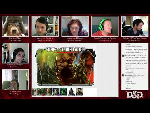 D&D 5e: The Tomb of Annihilation! Session 0