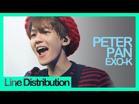 [Line Distribution] EXO-K - Peter Pan