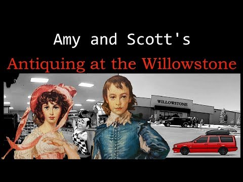 Antiquing at the Willowstone (Winter Wrong Way VLOG)