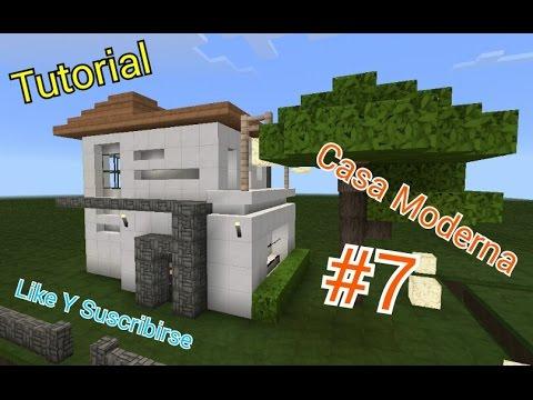 minecraft como hacer una casa moderna 7 youtube