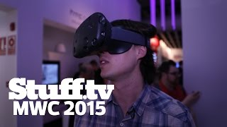 HTC Vive hands-on first impressions - Stuff.tv at MWC 2015