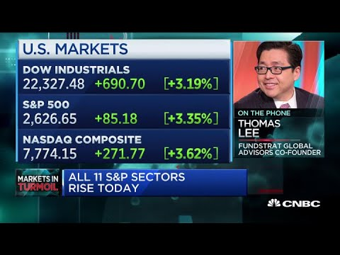 Tom Lee On Whether Stocks Have Finally Hit Bottom