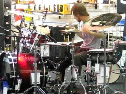 Dean Andrews Jr, Orlando drummer Best in Drums Contest Sam Ash