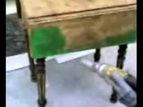 decapage meubles par aerogommage aerogommeuse aero con doovi. Black Bedroom Furniture Sets. Home Design Ideas