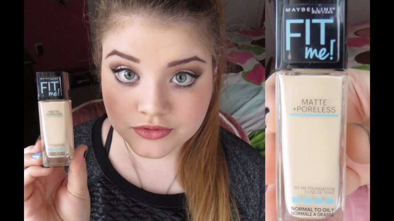 Mayballine Fit Me Matte Poreless Foundation Review Youtube Airyrooms Maybelline 30ml