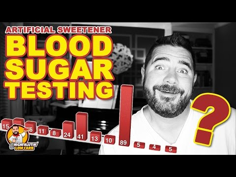 The Best Low Carb Sweetener? - Testing Blood Sugar Response of Artificial Sweeteners - SURPRISE!