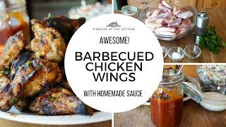 BARBECUED CHICKEN WINGS RECIPE | Family Approved!