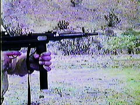 Alan Halla 1977 Experimental Prototype Low Recoil SMG Serial # AH3377.