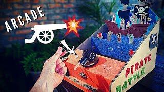 DIY Cardboard Pirate Game Tutorial